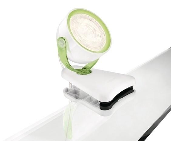 LED dětská stolní lampa Philips DYNA 53231/33/16 - zelená