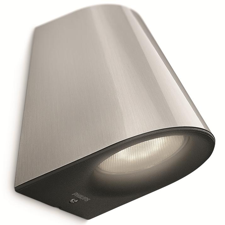 LED venkovní nástěnné svítidlo Philips VIRGA 17287/47/16 - nerez