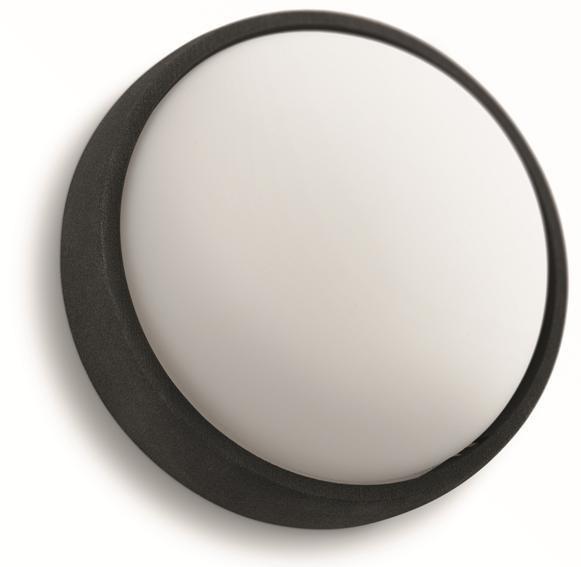 LED venkovní nástěnné svítidlo Philips EAGLE 17304/30/16 - černá