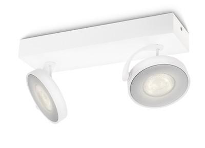 LED přisazené stropní svítidlo bodové Philips CLOCKWORK 53172/31/16 - bílá