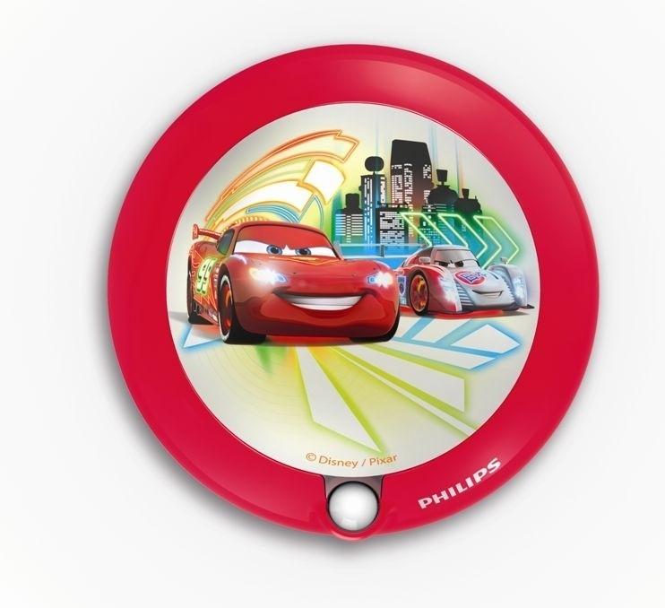 LED dětské nástěnné svítidlo s pohybovým čidlem Philips 71765/32/16 - červená