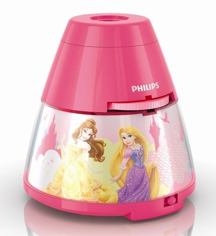 LED dětský projektor Philips PRINCESS 71769/28/16 - růžová