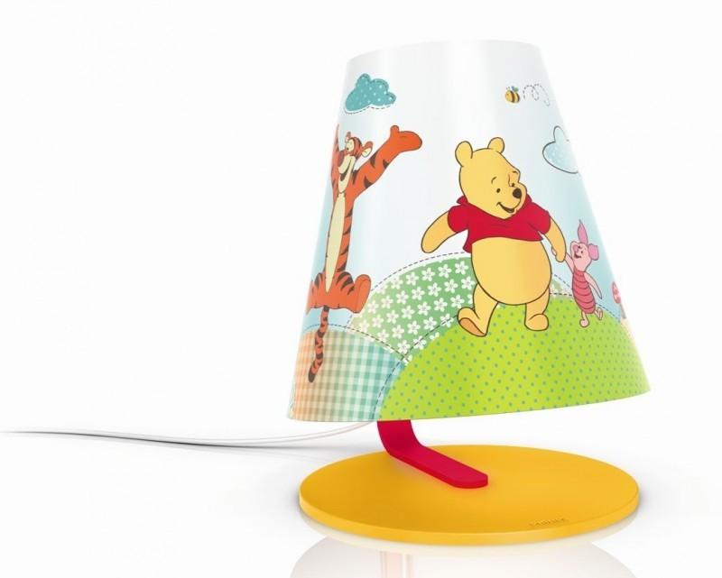 LED dětská stolní lampa Philips MEDVÍDEK PÚ 71764/34/16 - žlutá