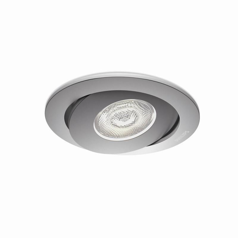 LED zápustné bodové svítidlo Philips ASTEROPE 59180/48/16 - hliník