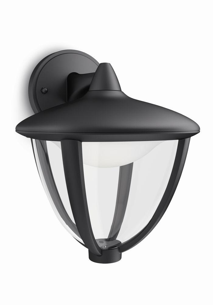LED venkovní nástěnné svítidlo Philips ROBIN 15471/30/16 - černá