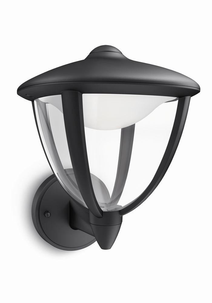 LED venkovní nástěnné svítidlo Philips ROBIN 15470/30/16 - černá