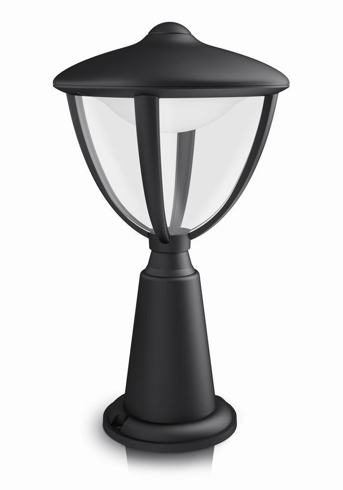 LED venkovní lampa Philips ROBIN 15472/30/16 - černá