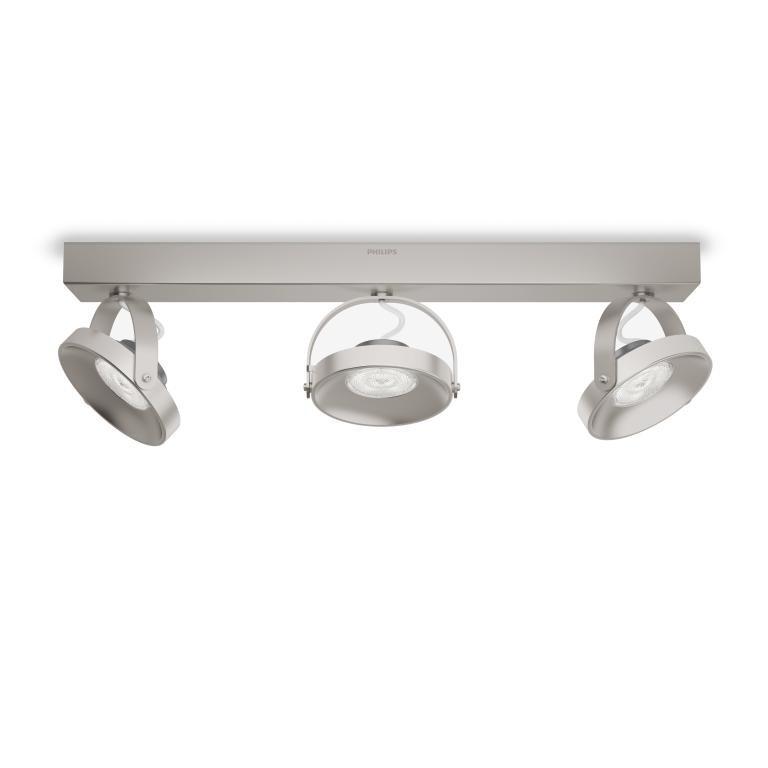 LED přisazené stropní svítidlo bodové Philips SPUR 53313/17/16 - matný chrom