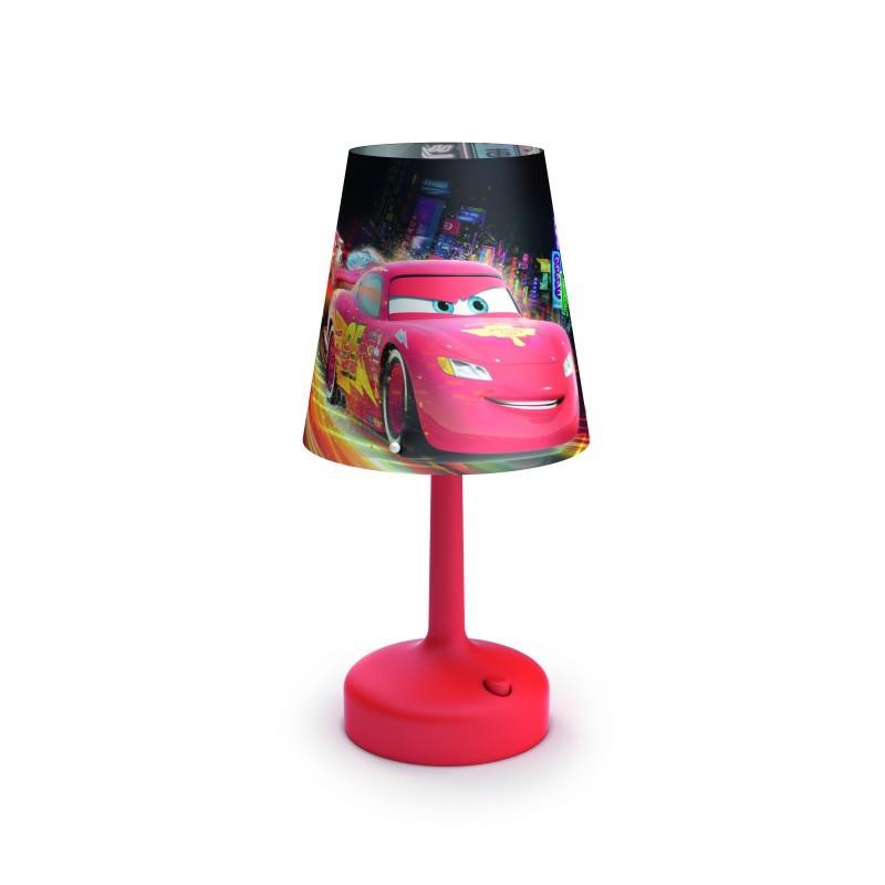 dětská stolní lampa Philips CARS 71796/32/16 - mix barev