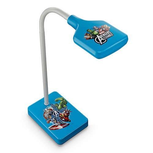 LED dětská stolní lampa Philips AVENGERS 71770/35/16 - modrá