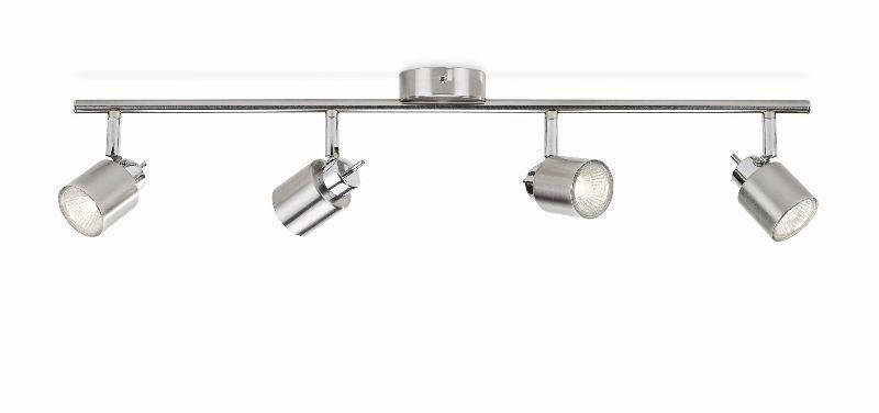 přisazené stropní svítidlo bodové Philips 50314/17/E7 - matný chrom