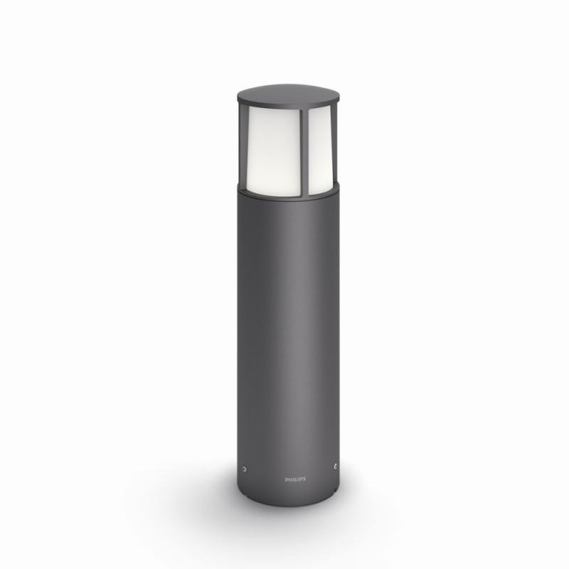 LED venkovní lampa Philips 16466/93/P3 - antracit