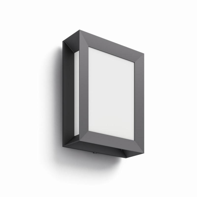LED venkovní nástěnné svítidlo lampa Philips 17293/93/16 - antracit