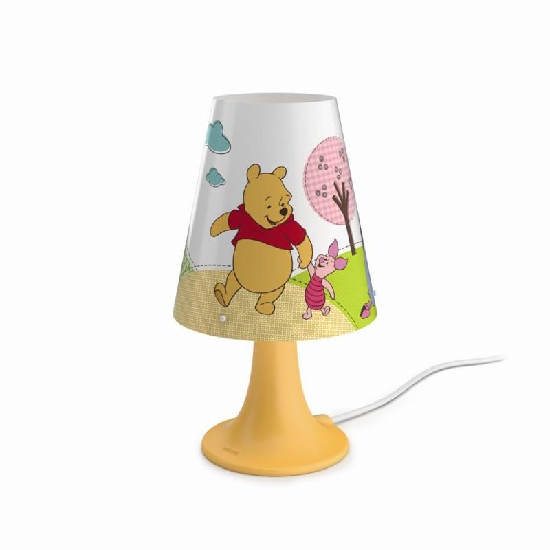 LED dětská stolní lampa Philips MEDVÍDEK PÚ 71795/34/16 - žlutá