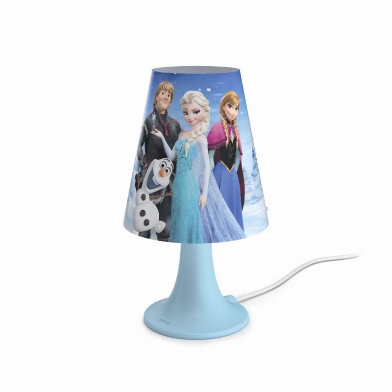 LED dětská stolní lampa Philips FROZEN 71795/35/16 - modrá