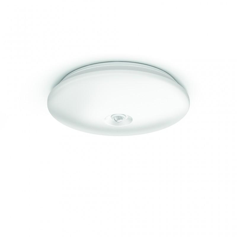 LED přisazené nástěnné a stropní svítidlo s pohybovým čidlem Philips 62234/31/P0 - bílá