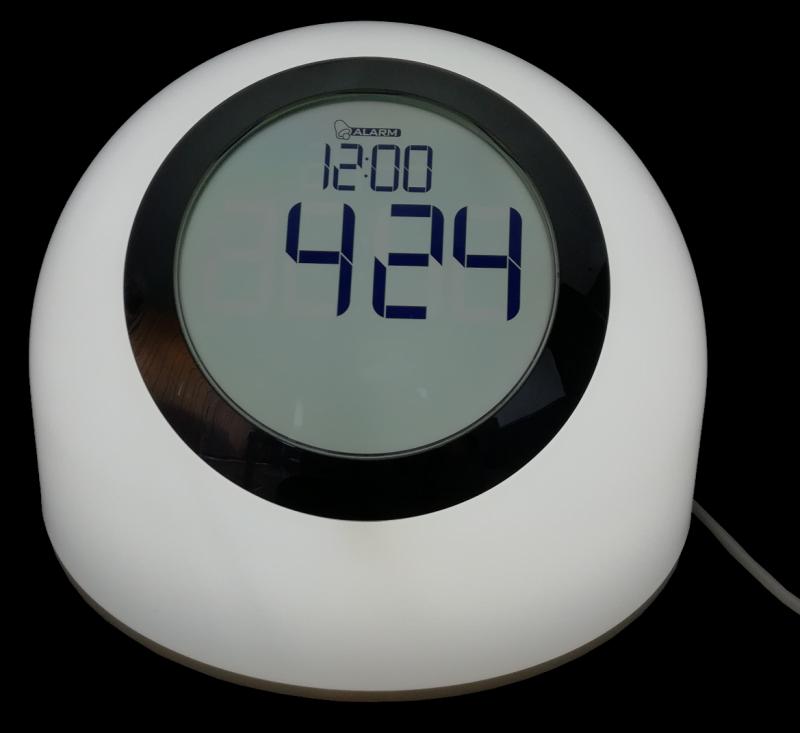 LED RGB stolní lampička budík Ledko LEDKO/00424 2.5W - různé barvy