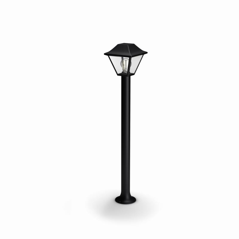 venkovní sloupkové svítidlo Philips Alpenglow 16497/30/PN E27 1x60W - černá