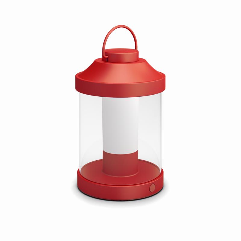 LED přenosné svítidlo Philips Abelia 17360/32/P0 3W - červená