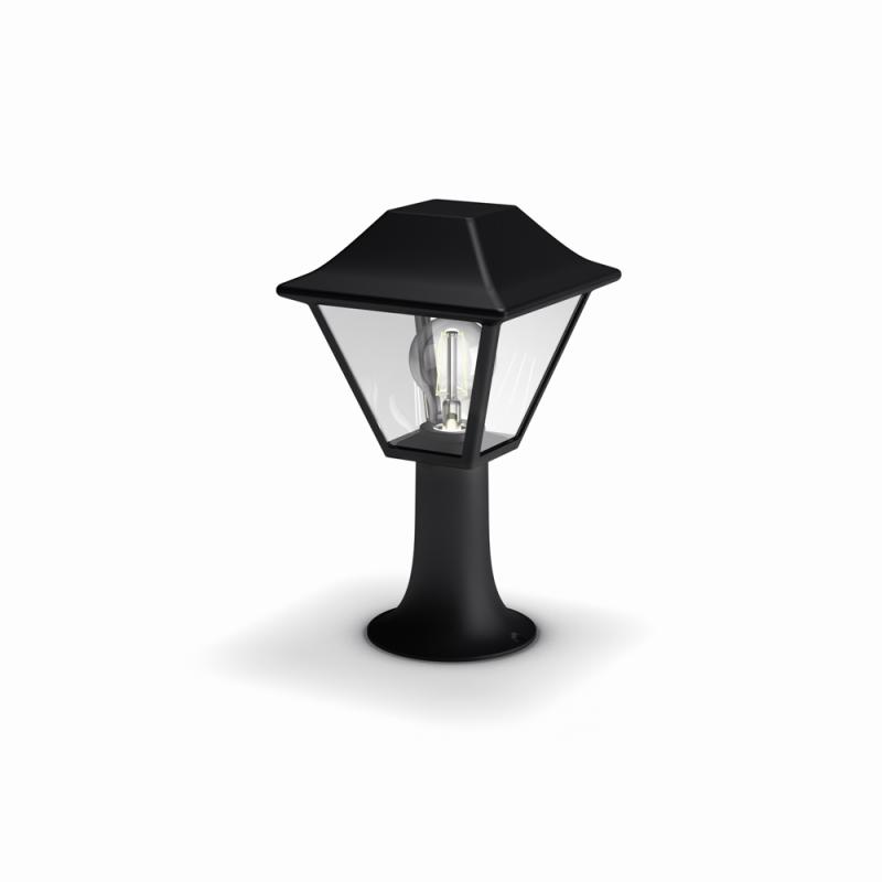 venkovní sloupkové svítidlo Philips Alpenglow 16496/30/PN E27 1x60W - černá