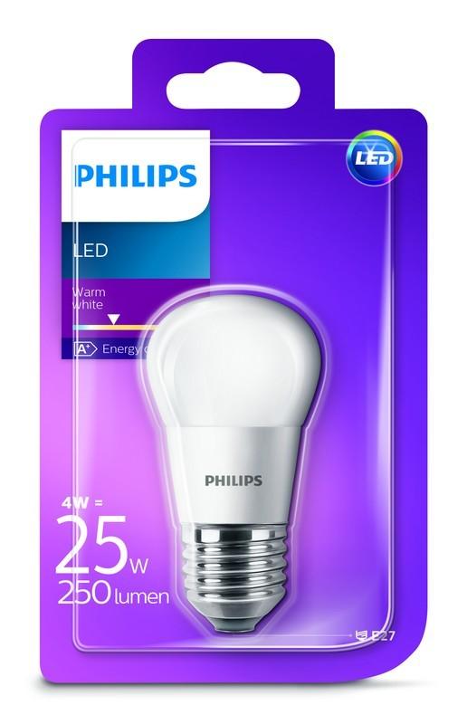 Philips LED 25W E27 Teplá bílá 230V P45 FR ND/4