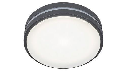Rabalux 8848 LED venkovní stropní a nástěnná lampa Hamburg 1x12W   4000K   IP44 - černá Rabalux 8848