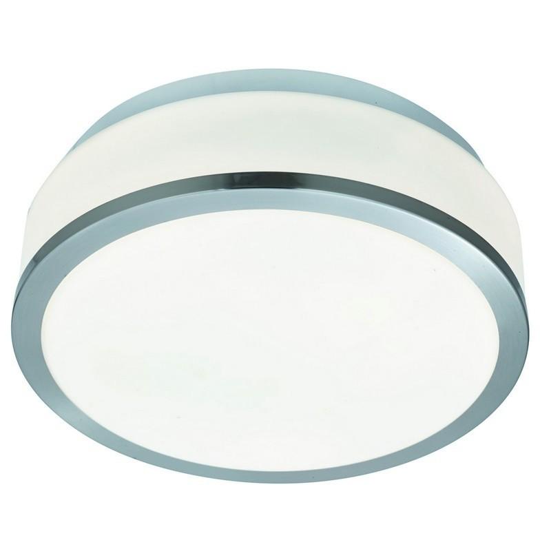 Searchlight 7039-28SS BATHROOM stropní koupelnové svítidlo 2xE27 IP44