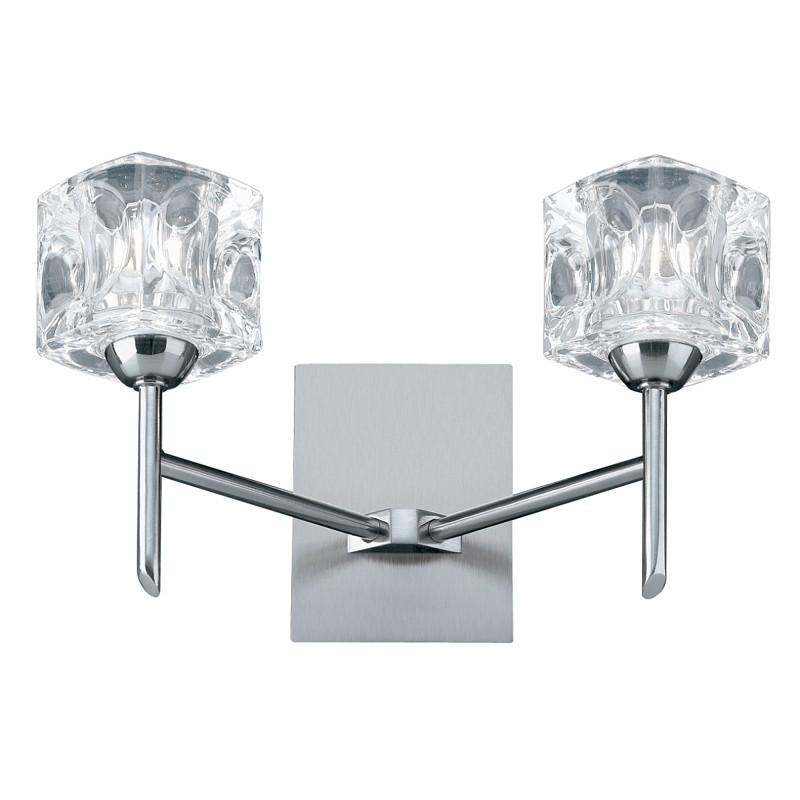 Searchlight 4342-2-LED ICE CUBE nástěnné svítidlo LED 2x5W 500 lm