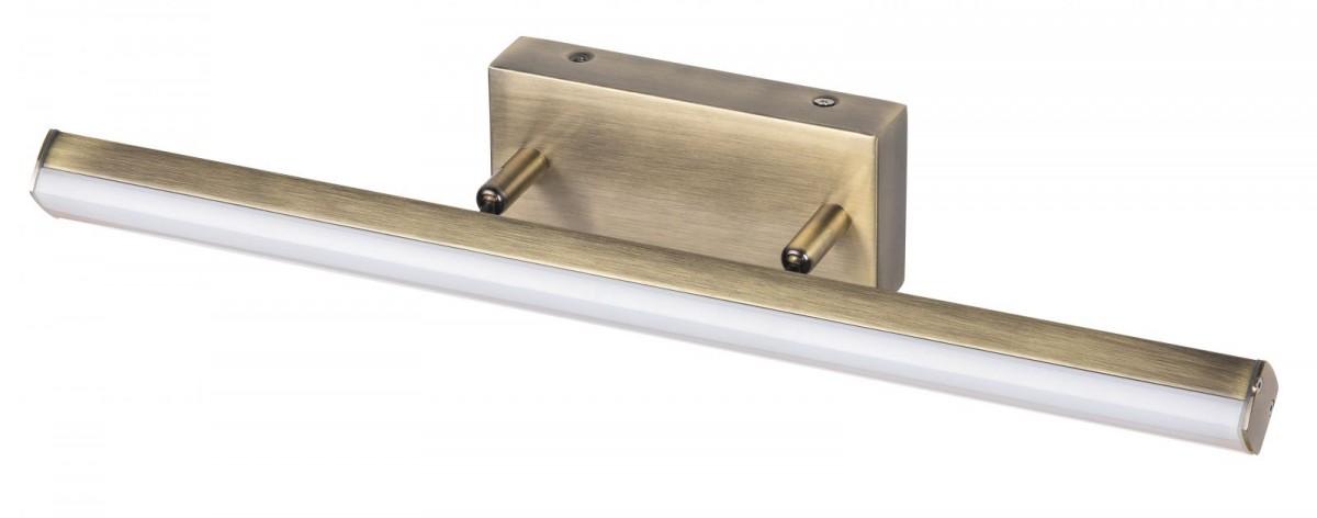 Rabalux 5729 LED nástěnné světlo nad zrcadlo Silas 1x18W | 1700lm | 4000K | IP44 - bronz