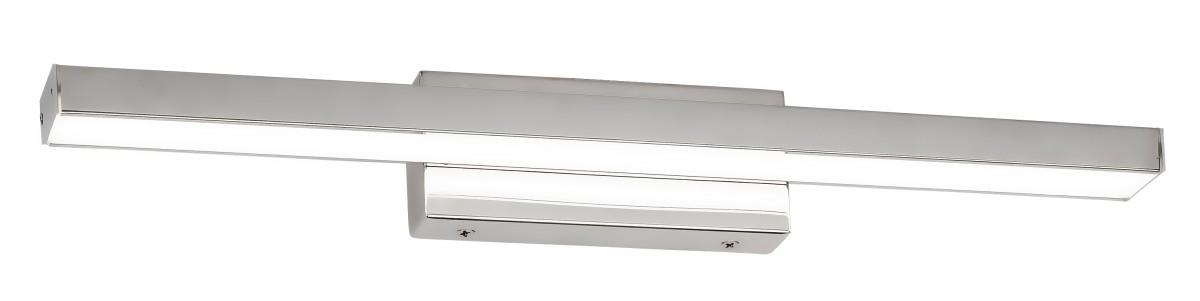 Rabalux 6129 LED nástěnné světlo nad zrcadlo John 1x18W | 1300lm | 4000K | IP44 - chrom