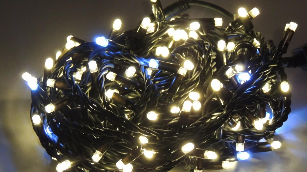 LED vánoční řetěz DRL50/50 délka 5 m, IP44 pro venkovní i vnitřní použití