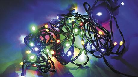 LED vánoční řetěz DL40M FA délka 3,9 m, IP20 - pro vnitřní použití