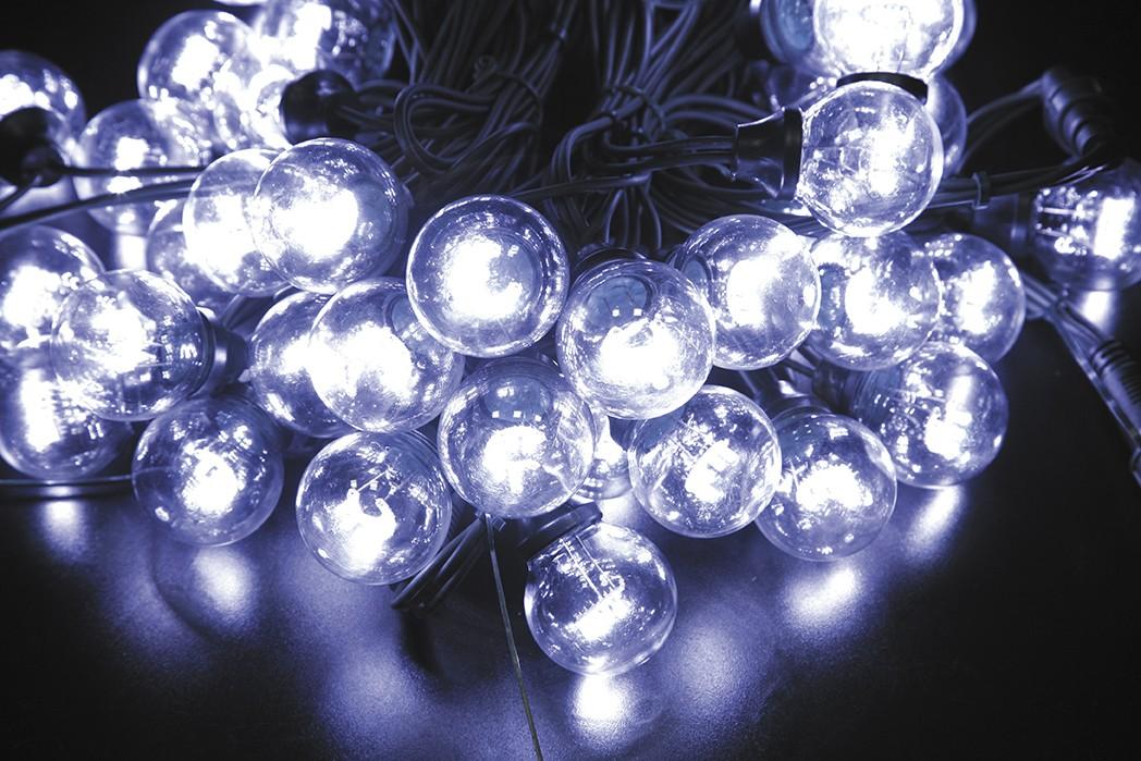 LED vánoční LED vánoční řetěz 120L STUDENÁ délka 10 m, IP44 pro venkovní i vnitřní použití