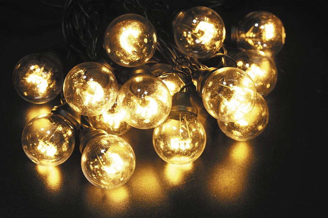 LED vánoční LED vánoční řetěz 120L TEPLÁ délka 10 m, IP44 pro venkovní i vnitřní použití