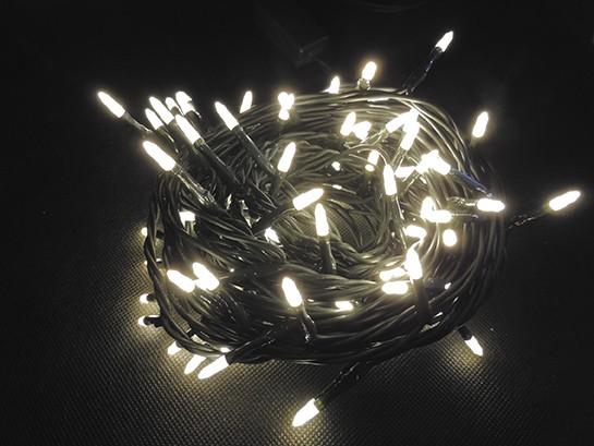LED vánoční řetěz 100 LED délka 10 m, IP20 - pro vnitřní použití