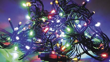 LED vánoční řetěz S ČASOVAČEM 32018, IP44 pro venkovní i vnitřní použití