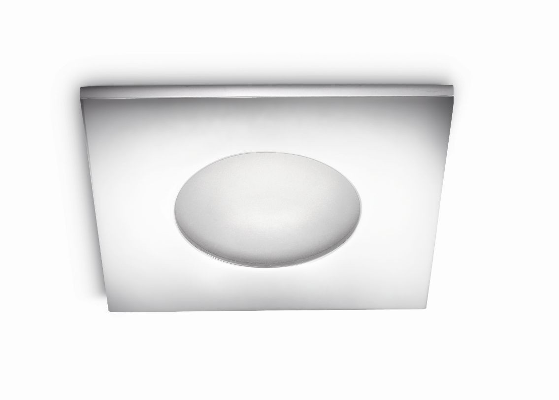 koupelnové podhledové svítidlo Philips Thermal 59910/11/PN GU10 35W - lesklý chrom