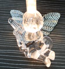 Světelný LED řetěz s andílkami 33497