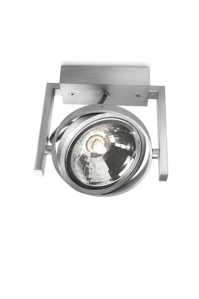 bodové stropní svítidlo Philips Massive Fast 53060/48/PN G9 42W - hliník