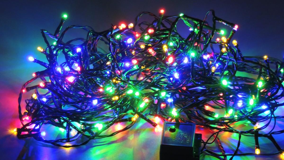 LED vánoční řetěz 180 L délka 17,9 m, IP44 pro venkovní i vnitřní použití