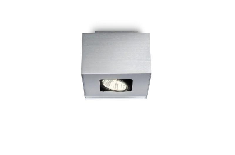 bodové stropní svítidlo Philips Massive Tempo 56230/48/PN GU10 1x35W - hliník