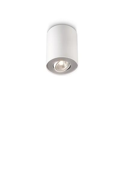 bodové stropní svítidlo Philips Massive Pillar 56330/31/PN GU10 1x35W - bílá