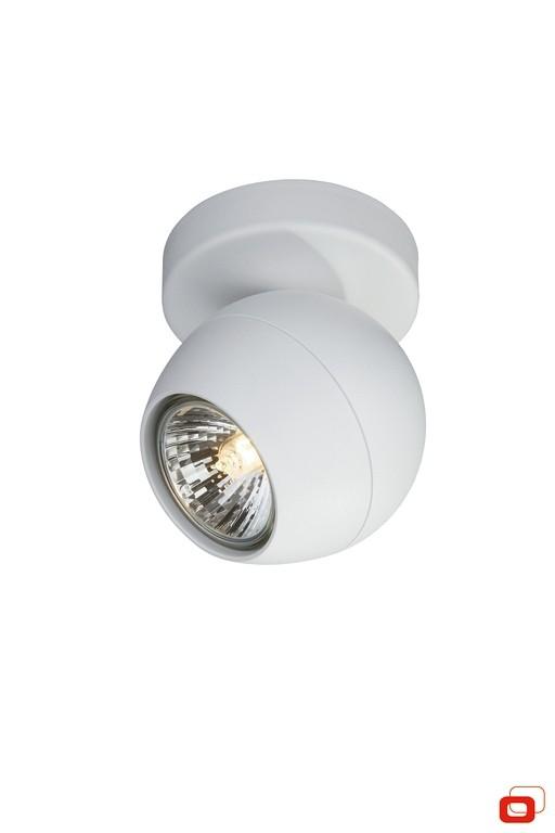 bodové stropní svítidlo Philips Massive Planet 57030/31/PN GU10 1x50W - bílá