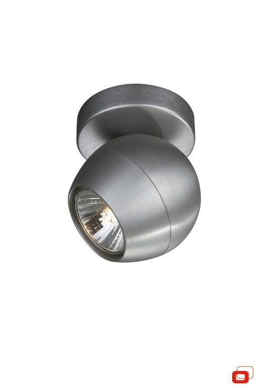 bodové stropní svítidlo Philips Massive Planet 57030/48/PN GU10 1x50W - hliník
