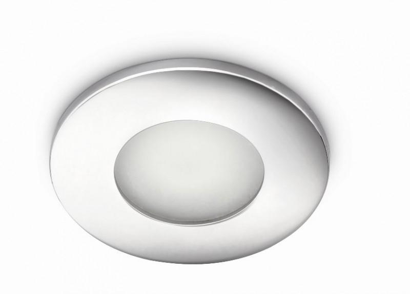 koupelnové podhledové svítidlo Philips Massive Wash 59905/11/PN GU10 1x35W - lesklý chrom
