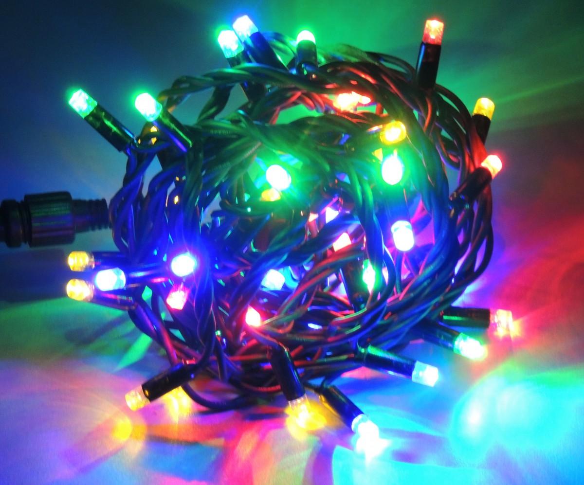 LED vánoční řetěz MULTICOLOR délka 20 m, IP44 pro venkovní i vnitřní použití