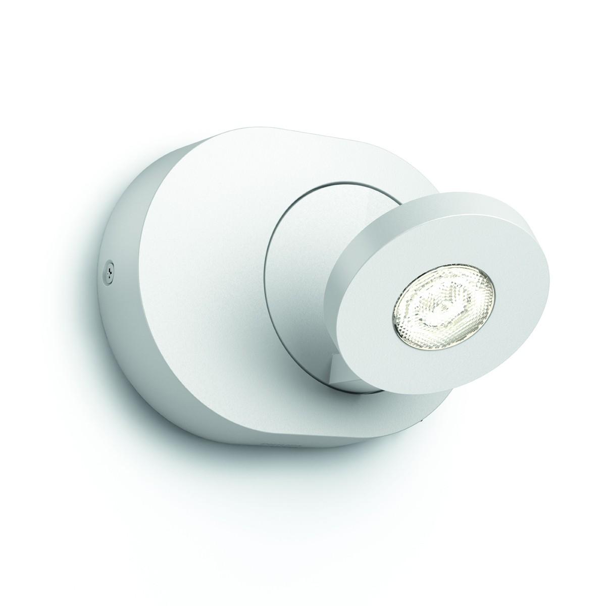 LED nástěnné bodové svítidlo Philips Massive Scope 57180/31/16 1x4.5W - bílá