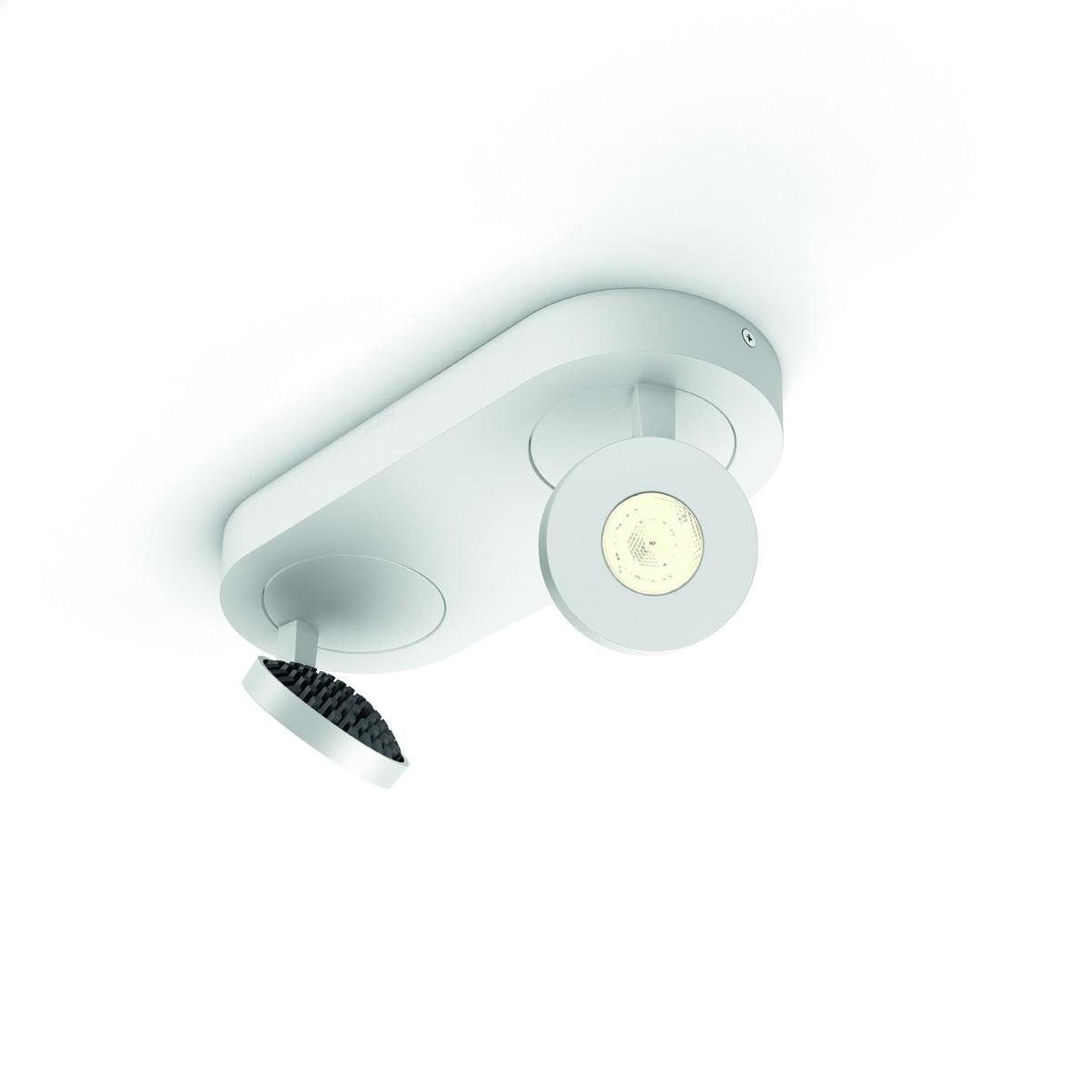 LED nástěnné bodové svítidlo Philips Massive Scope 57182/31/16 2x4.5W - bílá