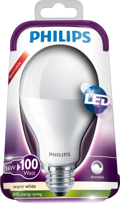 LED žárovka 8718696478554 100W E27 WW 230V A67 FR D, bílá