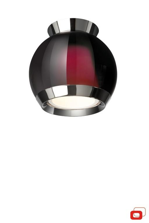přisazené stropní svítidlo Philips Lirio Carino 36925/32/LI 1X105W, červené sklo